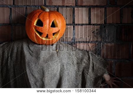 preparation of various decorations and attributes for the celebration of the international holiday of Halloween