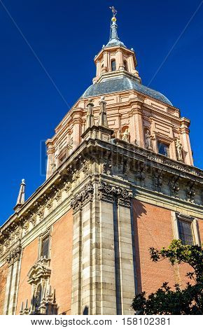 The Church de San Andres in Madrid - Spain