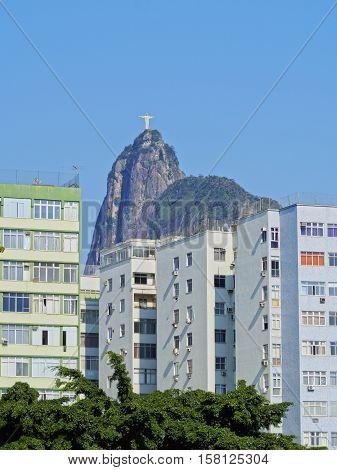 Corcovado Mountain In Rio