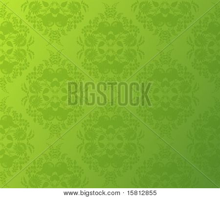 Wallpaper flower background. Vector