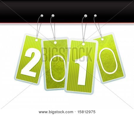 New year cards. Vector