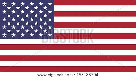 Official vector flag of United States of America ( USA )
