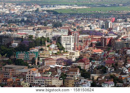 Antananarivo Cityscape, Tana, Capital Of Madagascar