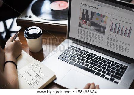 Turntable Vinyl Record DJ Scratch Music Entertainment Startup Concept