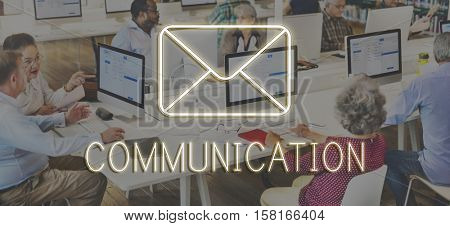 Message Social Network Chat Texting Graphic Concept