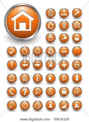 web icons for business and office.