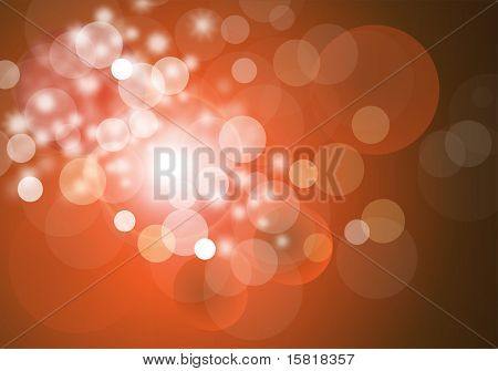 Abstract vector background magic sparkle, light dots, vector  bokeh.