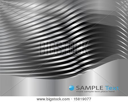 Abstract business background, silver metallic, EPS10 transparency.