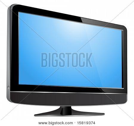 LCD tv monitor.