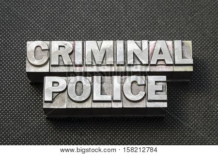 Criminal Police Bm