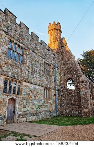 Battle Abbey In East Sussex Of England