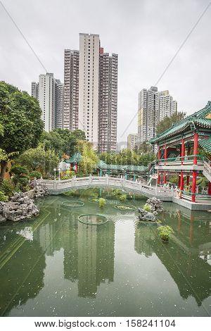 God Wish Garden Of Wong Tai Sin Temple  Hk Kowloon