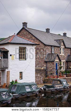 Old Building Architecture In Brecon
