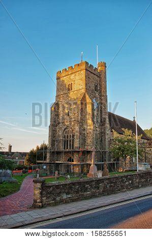 St Mary Church At Battle Uk