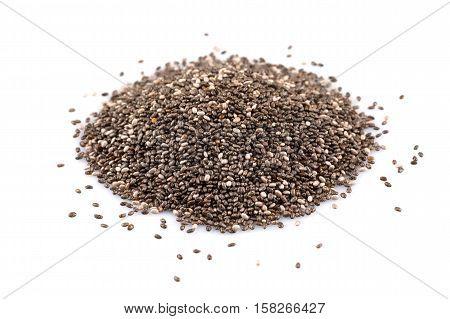 Chia Seeds Closeup