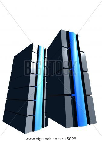 Two 3d Servers