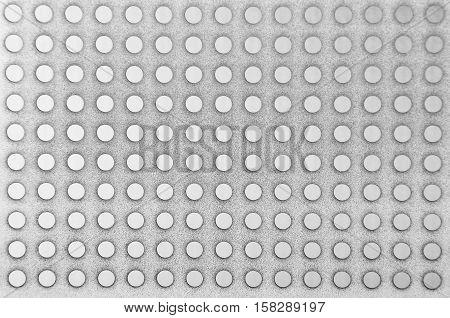 Steel Perforated Metallic Background