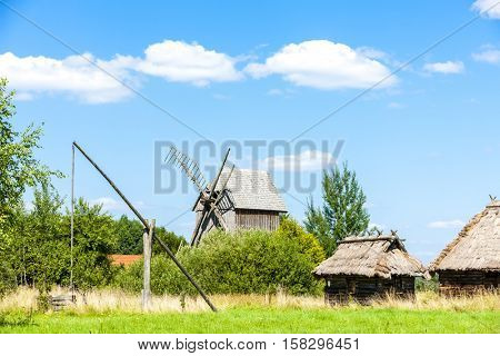 ethnographic park of Russian culture, Bialowieski national park, Podlaskie Voivodeship, Poland