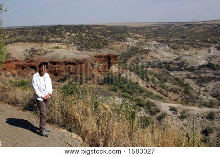 At Olduvai Gorge