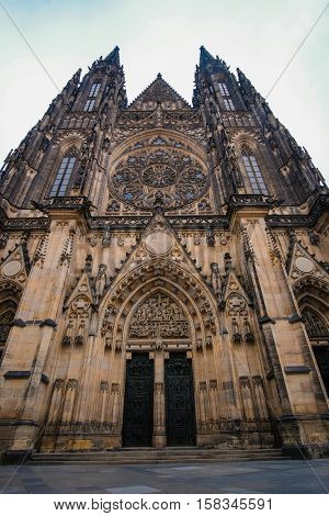 St. Vitus Cathedral  in Prague Castle, Czechia