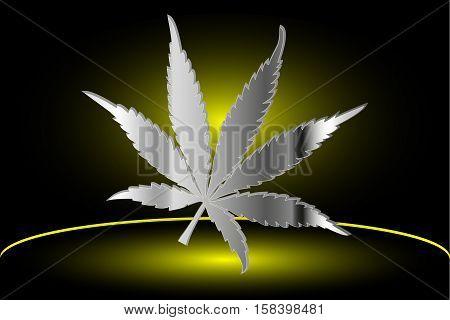 Marijuana leaf , cannabis , cannabis leaf