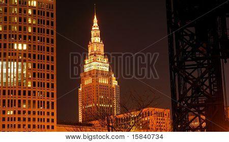 Cleveland Night Scene