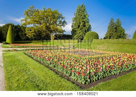 garden of Lednice Palace, Czech Republic