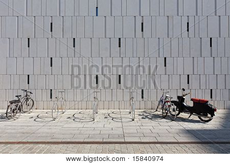Bike Stand In Wiesbaden