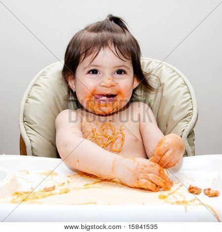 Happy Fun Messy Eater