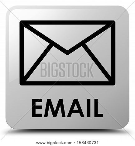 Email (envelop icon) on white square button