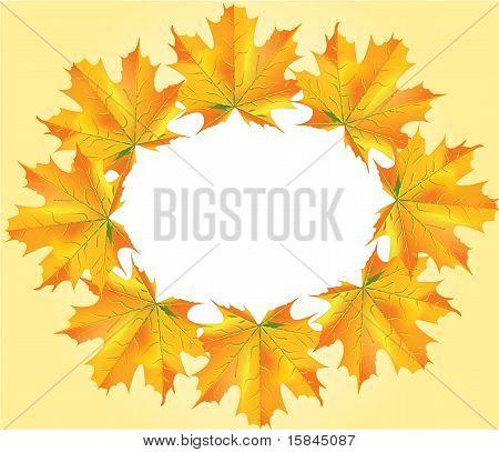 Autumn Leafs Circle