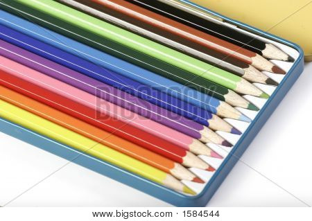 A Photo Of Color Pencils