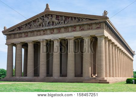 Parthenon Replica at Centennial Park in Nashville