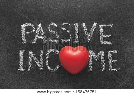 Passive Income Heart