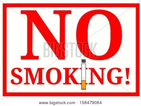 no smoking or non-smoking warning sign plaque poster campaign against smoking