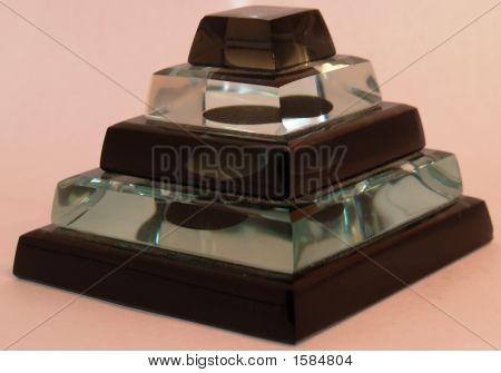 Glass Ziggurat