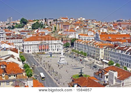 Innercity From Lisbon Portugal