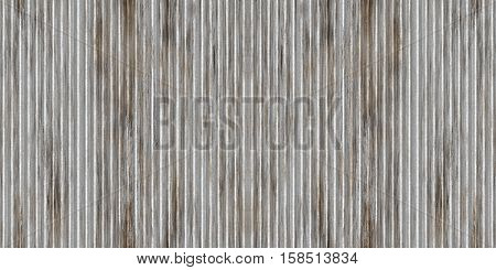 Wide Silver Metallic Wall Aluminum Industrial Textured Background