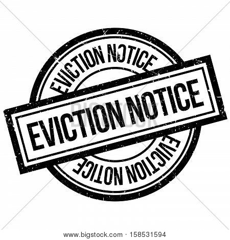Eviction Notice Rubber Stamp
