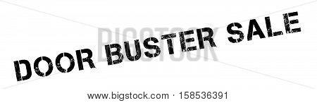 Door Buster Sale Rubber Stamp