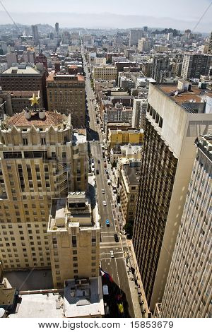 view from a skyscraper