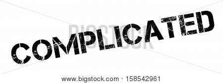 Complicated Rubber Stamp