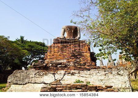 Famous Temple Area Wat Phra Si Sanphet