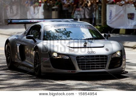 Audi R8 showcase in Malaysia in conjunction with F1