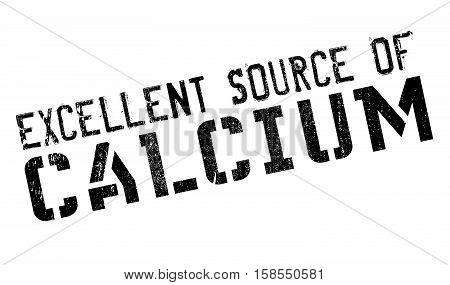 Excellent Source Of Calcium Stamp