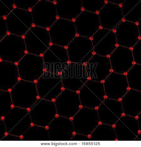 Hexagonal Connections. Molecules