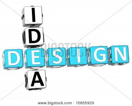 Design Idea Crossword