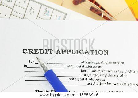 Solicitud de préstamo