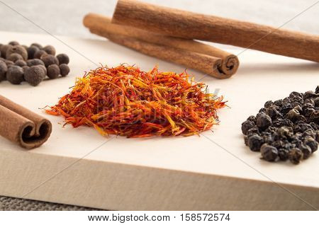 Seasonings And Spices Close-up