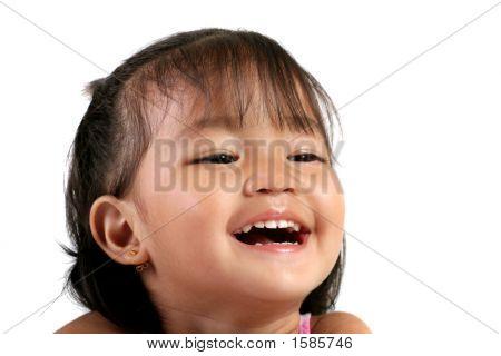 Three Year Old Asian
